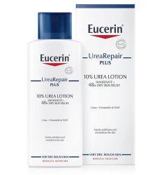 Eucerin UreaRepair PLUS losion za telo sa 10%uree +ceramid+PVF namenjen jesvakodnevnoj nezi izrazito suve i grube kože tela koja se peruta i svrbi - Eucerin mleko za telo