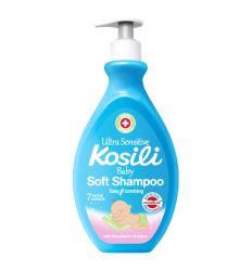 Kosili šampon za bebe 400ml plava sa pumpicom - sampon za bebe
