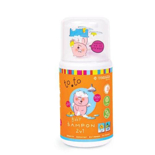 TOSAMA TO.TO Baby šampon za kupanje 2u1 500ml