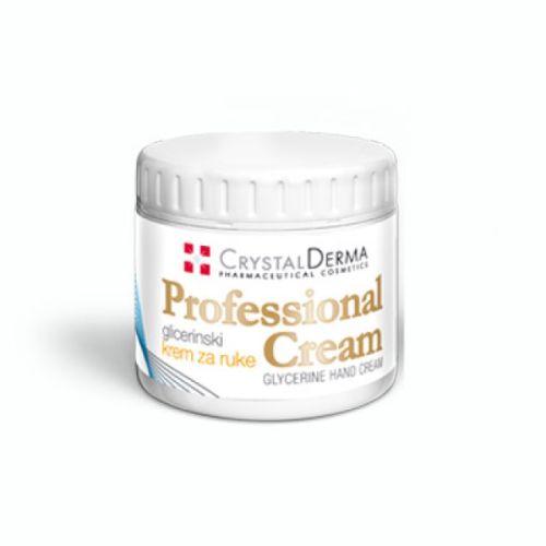Crystal derma Professional cream 185ml - glicerinska krema za ruke