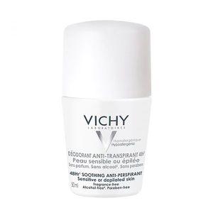 Vichy roll on za veoma osetljivu i depiliranu kožu (24 sata)Osetljiva ili epilirana koža 50 ml