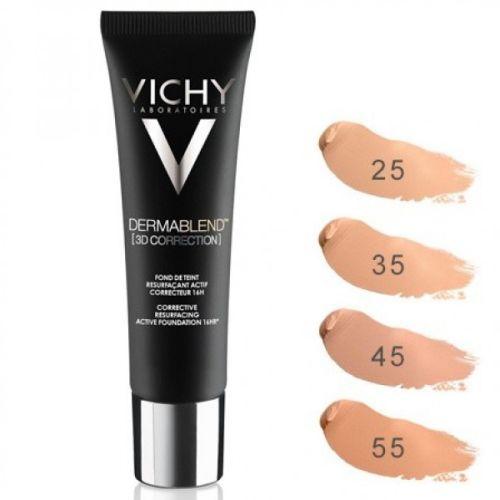 Vichy DERMABLEND 3D tečni puder broj:45