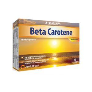 Alkakaps Beta Carotene 90 kapsula