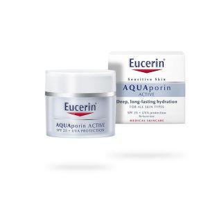 Eucerin AQUAporin Active UVA+SPF25 zaštitna krema za lice šifra:69781
