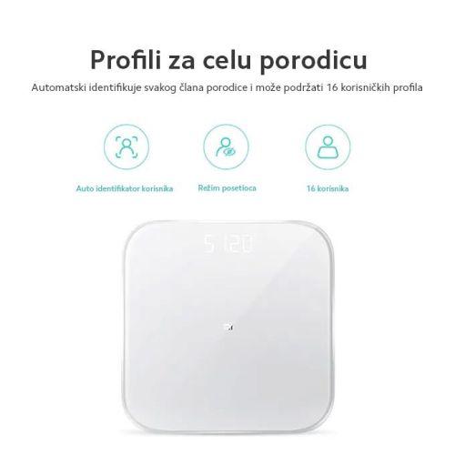 Xiaomi Mi pametna vaga - merenje kg - vaga za merenje tezine
