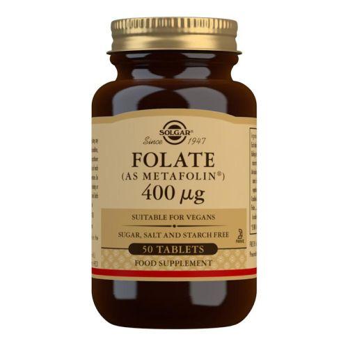 SOLGAR FOLAT 400 μg 50 tableta