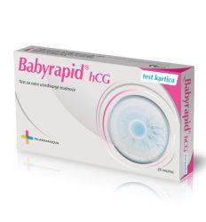 Test za trudnoću Babyrapid hCG pločica - test za kucnu upotrebu