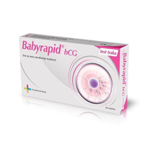 Test za trudnoću Babyrapid hCG traka - brz i pouzdan test za trudnocu
