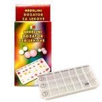 Dozator za lekove nedeljni 2M - nedeljni dozator za lekove
