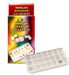 Dozator za lekove nedeljni 2M