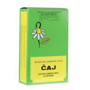 Čaj protiv zapaljenja debelog creva sa zatvorom 100g-čaj br.27 Institut Josif Pančić