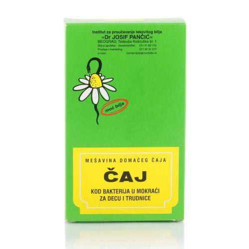 Čaj kod bakterija u mokraći za decu i trudnice 100g-čaj br.85