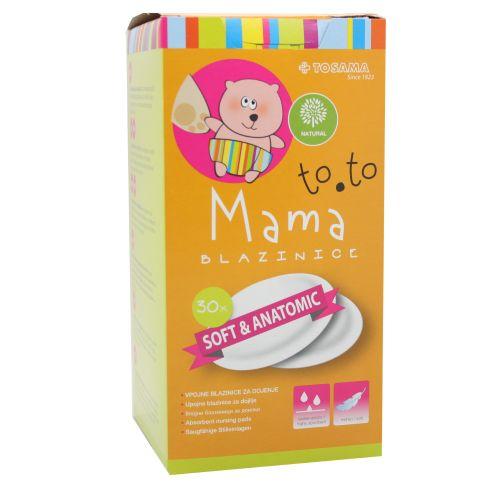 TOSAMA TO.TO Mama tupferi za grudi 30kom za majke koje doje
