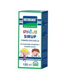 Proizvod je namenjen deci sa simptomima prehlade i gripa kod kojih je prisutan kašalj