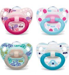 NUK varalica Happy Days 0-6m silikon - varalice za bebe
