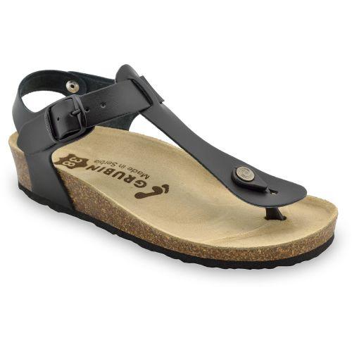 GRUBIN ženske sandale japanke 953650 TOBAGO crne