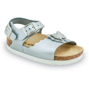 GRUBIN dečije sandale BUTTERFLY 109235 srebrna (23-29)