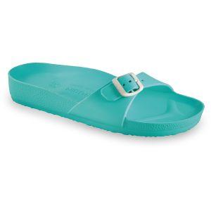 GRUBIN ženske papuče MADRID LIGHT 30437- ZELENA