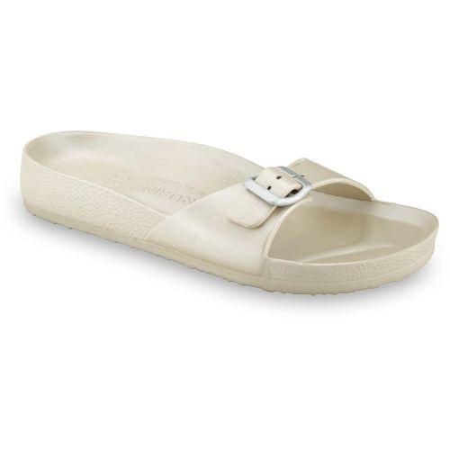 GRUBIN ženske papuče MADRID LIGHT 30437- ZLATNA