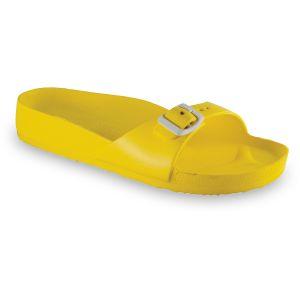 GRUBIN ženske papuče MADRID LIGHT 30437- ŽUTA