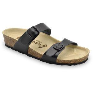 GRUBIN ženska papuča EDITH 87355 crna