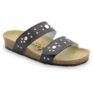 GRUBIN ženska papuča MALTA 0593690 crna