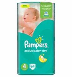 Pampers pelene maxi 4 Jumbo pack 7-14kg 64kom - pelene za bebe