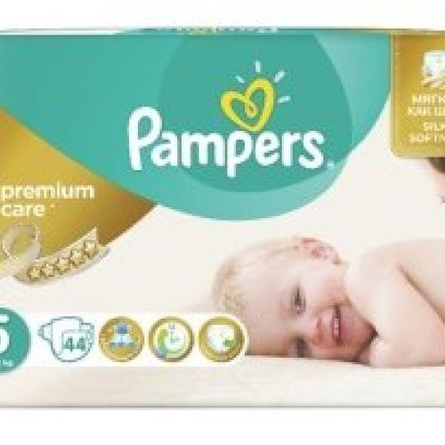 Pampers pelene premium care value pack 5 junior 11-18kg 44kom